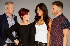 X Factor Judges 2013 (credit; The Mirror)