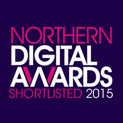 We're on the Shortlist – Northern Digital Awards 2015