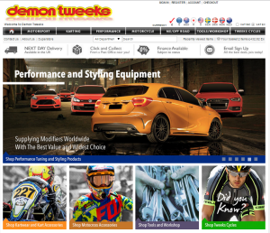 At a glance review of Demon-Tweeks.co.uk – The Good, The Bad & The Ugly