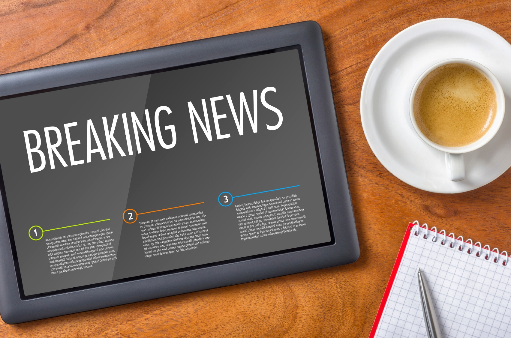 Stay on top of the news for your industry, to help your content stand out