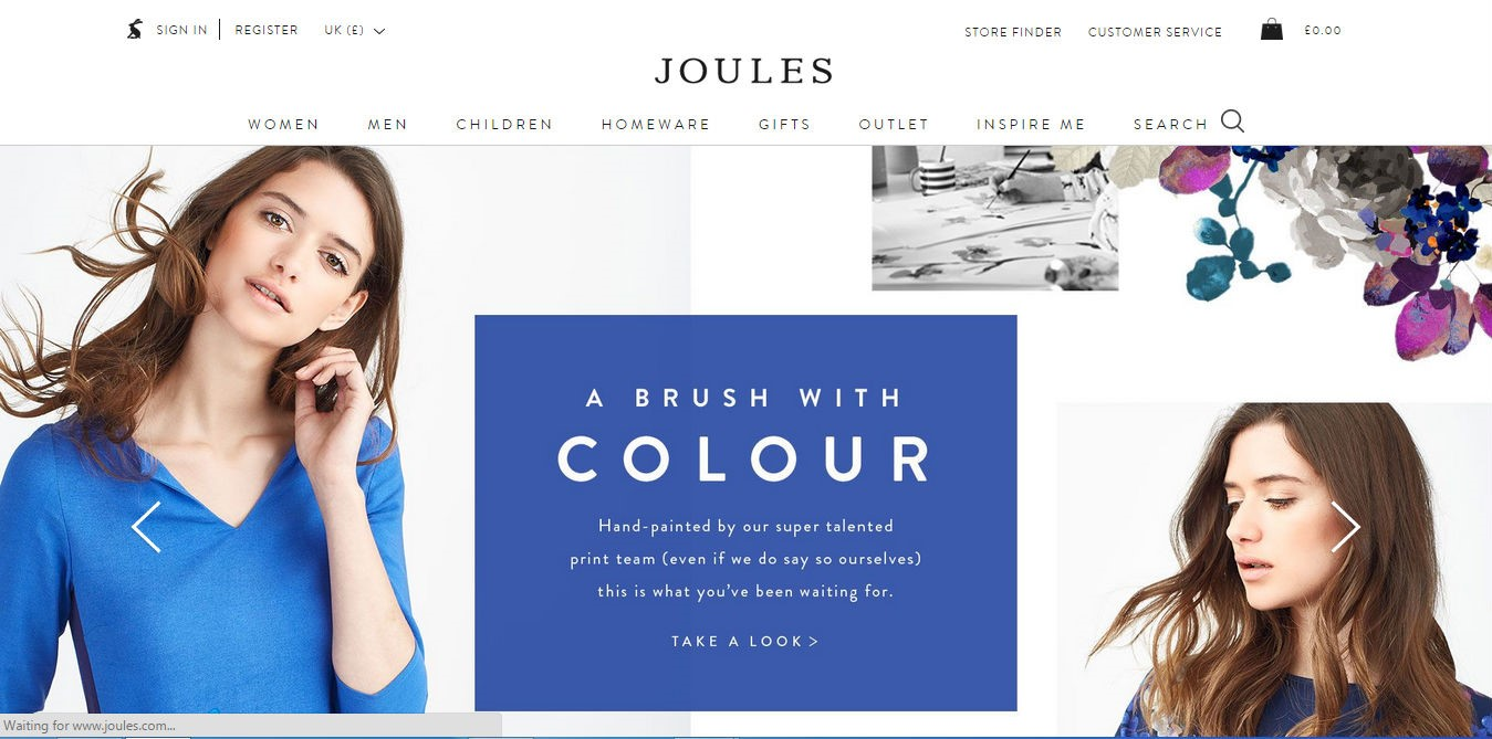 Joules.com: A Fashion Website Conversion Rate Analysis