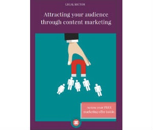 Download our eBook: Attracting your audience through content marketing