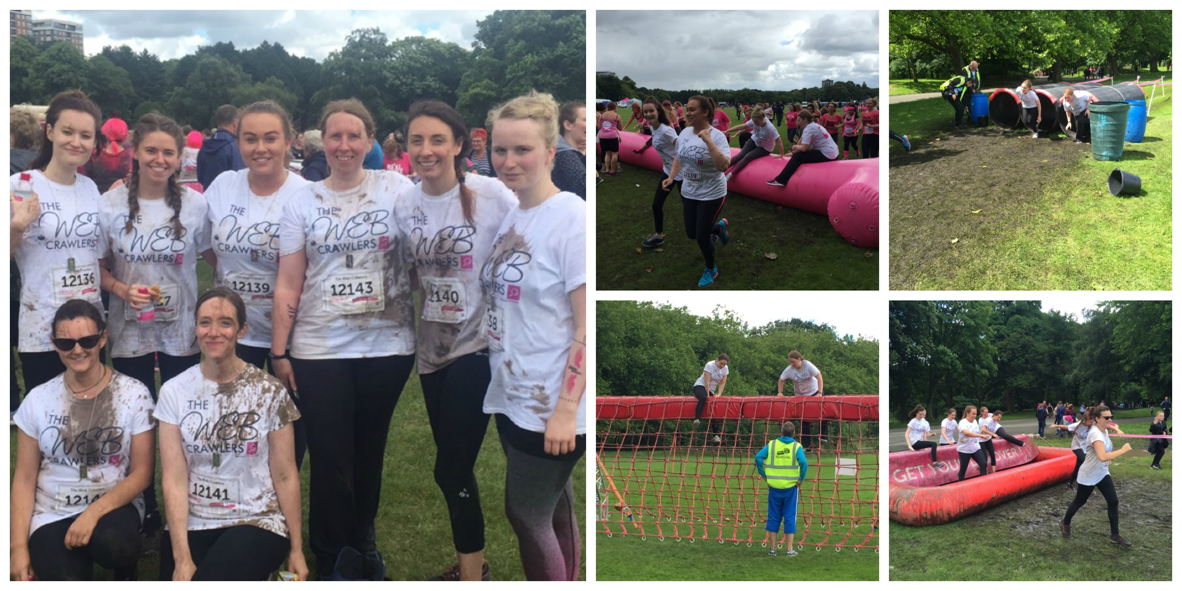The Hit Search Web Crawlers complete Race for Life Pretty Muddy event in Liverpool