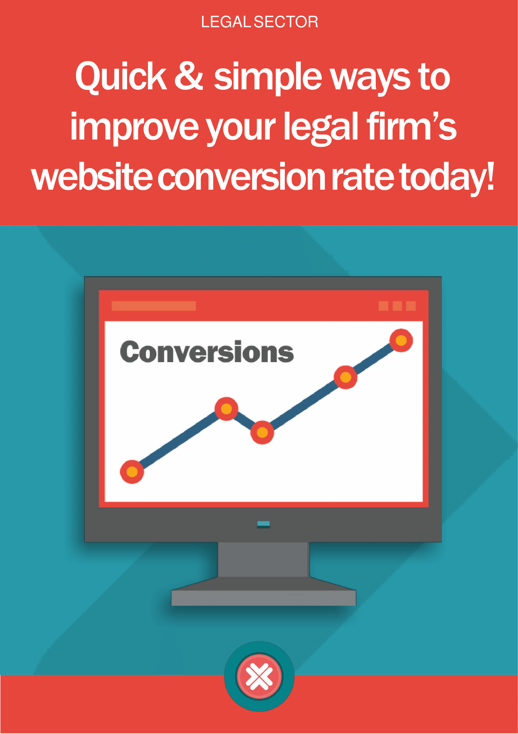 Legal eBook: drive new cases through your legal website with conversion rate optimisation