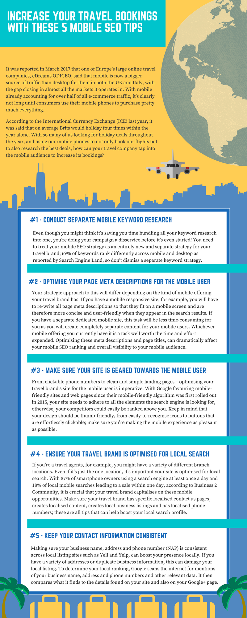 Travel sector: Mobile SEO Tips