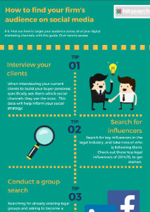 Download our infographic for 5 tips to help you conquer social media!
