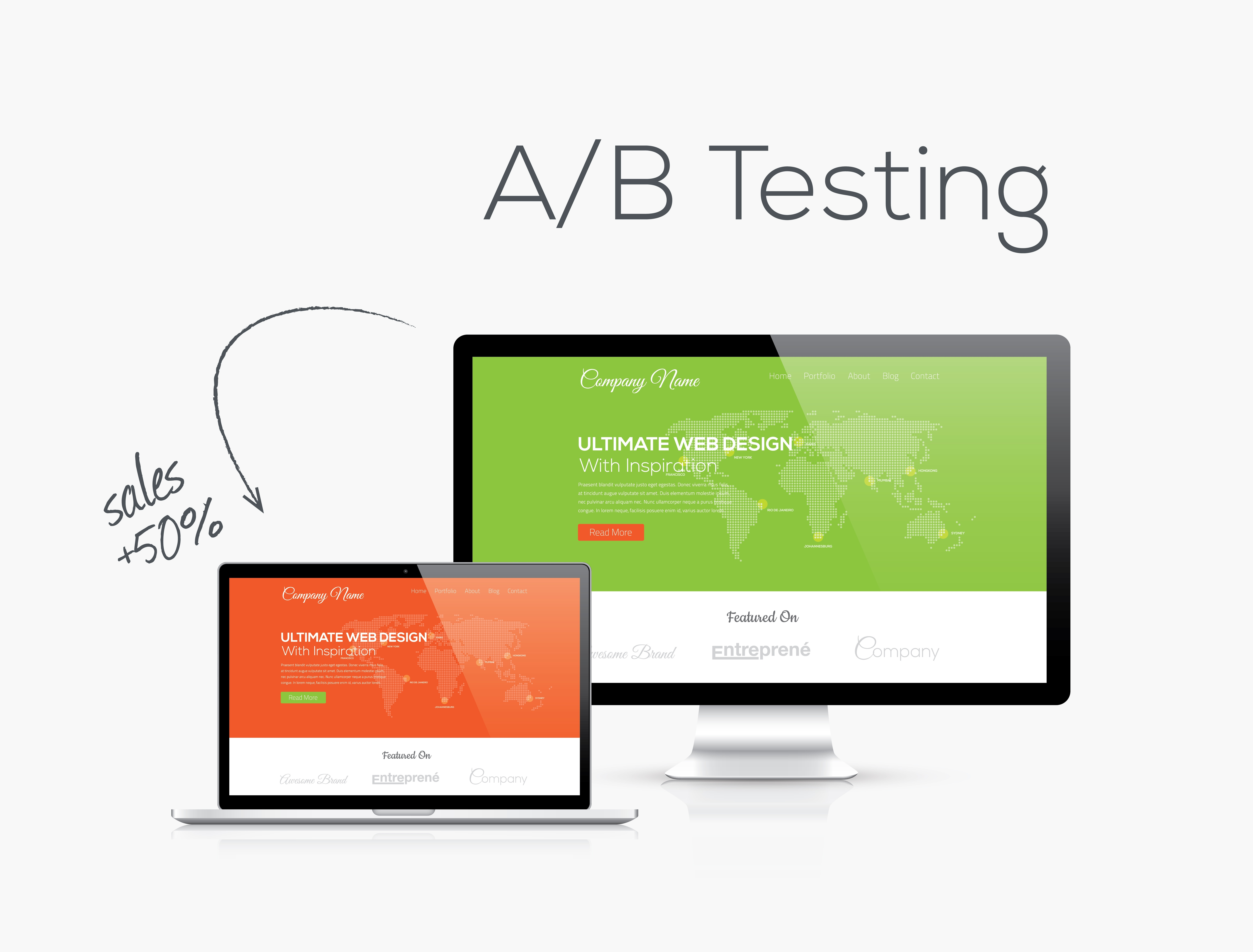 A/B testing can help improve your conversion rates
