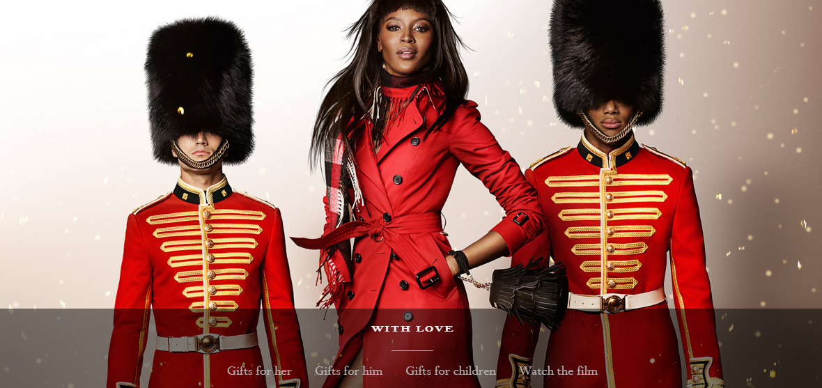 Burberry: taking Christmas campaign inspiration from the best