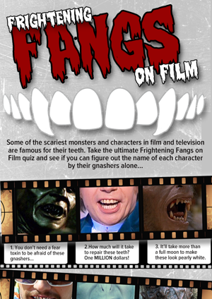 Film quiz infographic for Behind The Smile