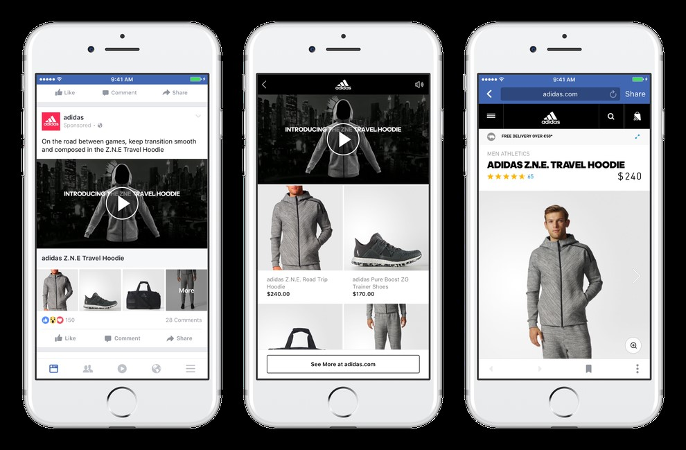 facebook ads for clothing brand