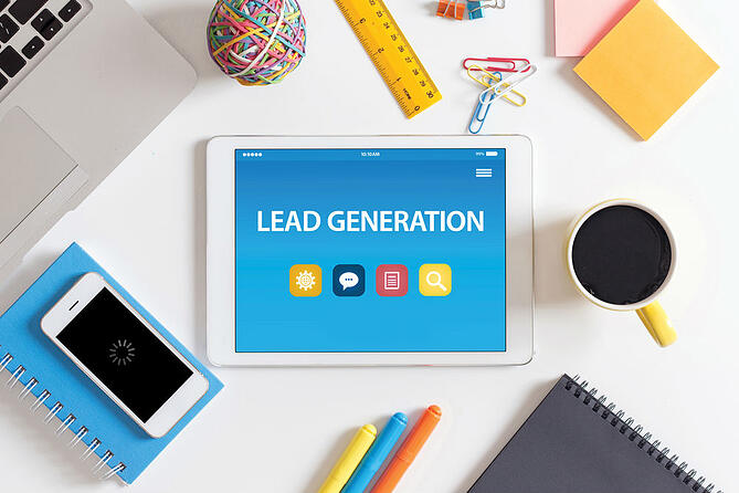 What are the 4 elements of lead generation?