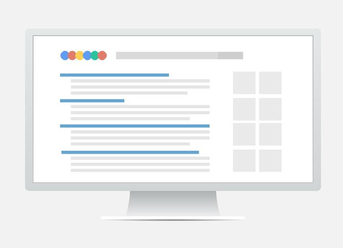 google search results page changes - a summary of 2016 so far