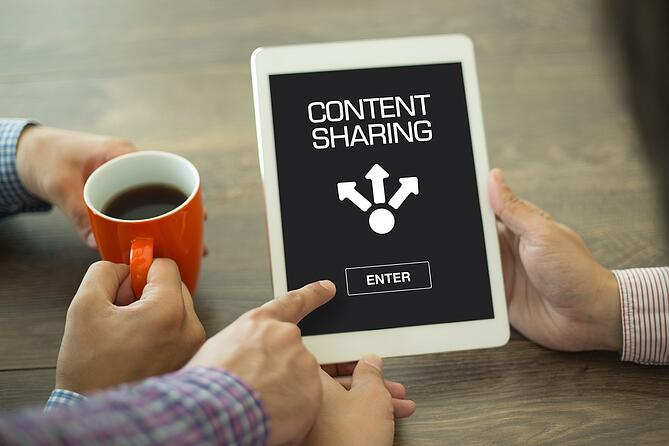 attract more web visitors by outreaching your firm's content