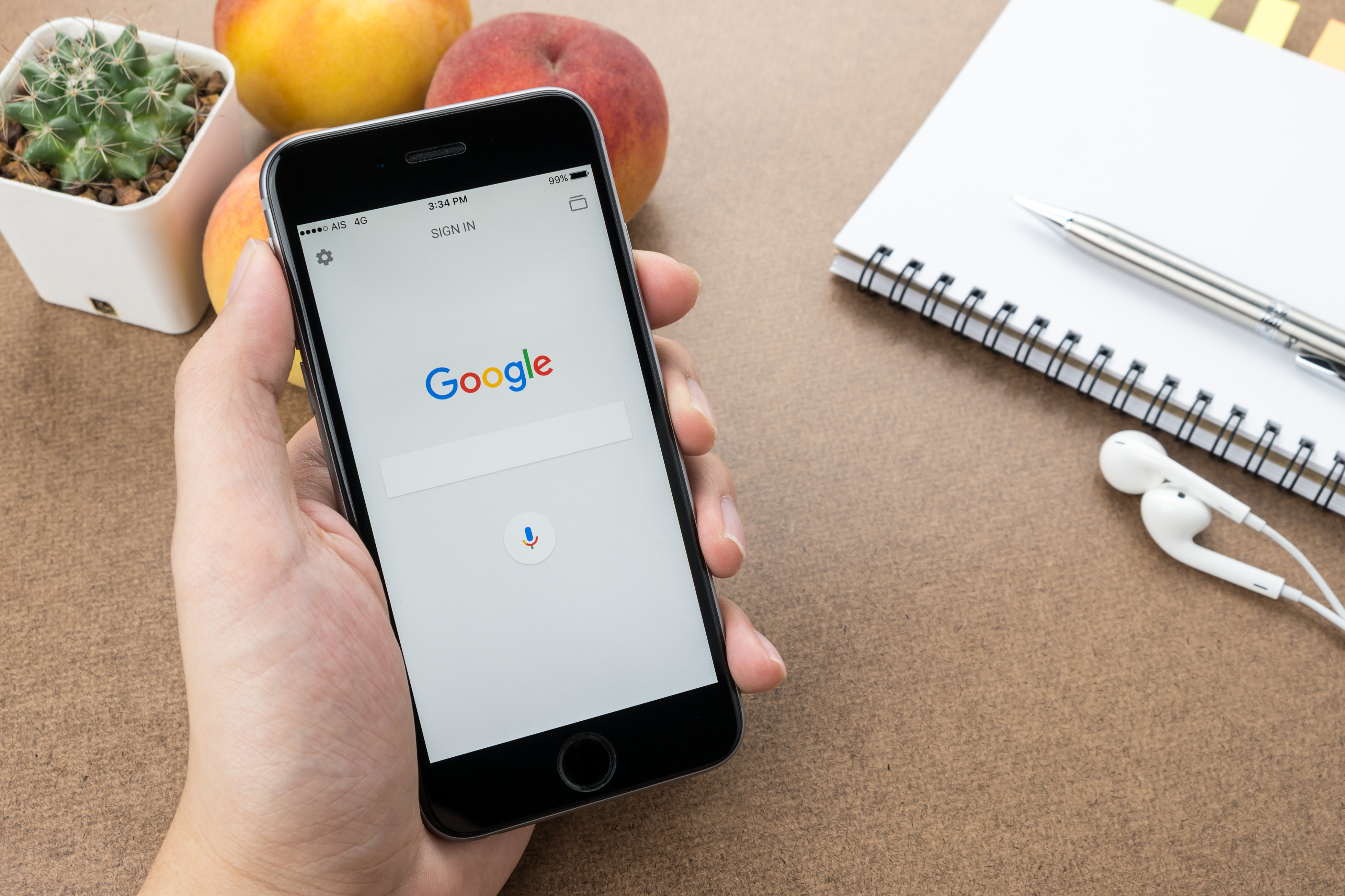 voice search by Google