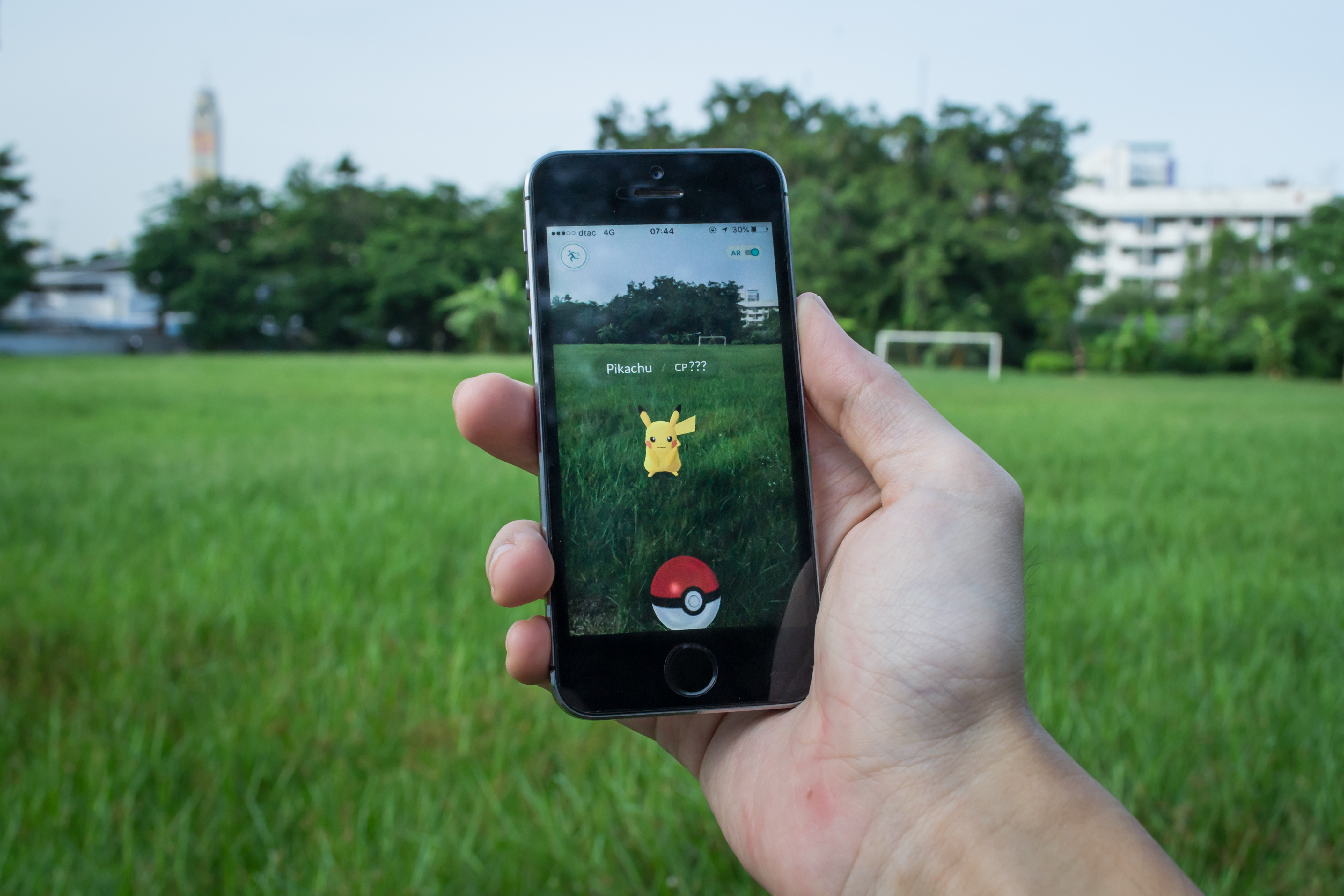 Millions head out onto the streets to play Pokémon Go!