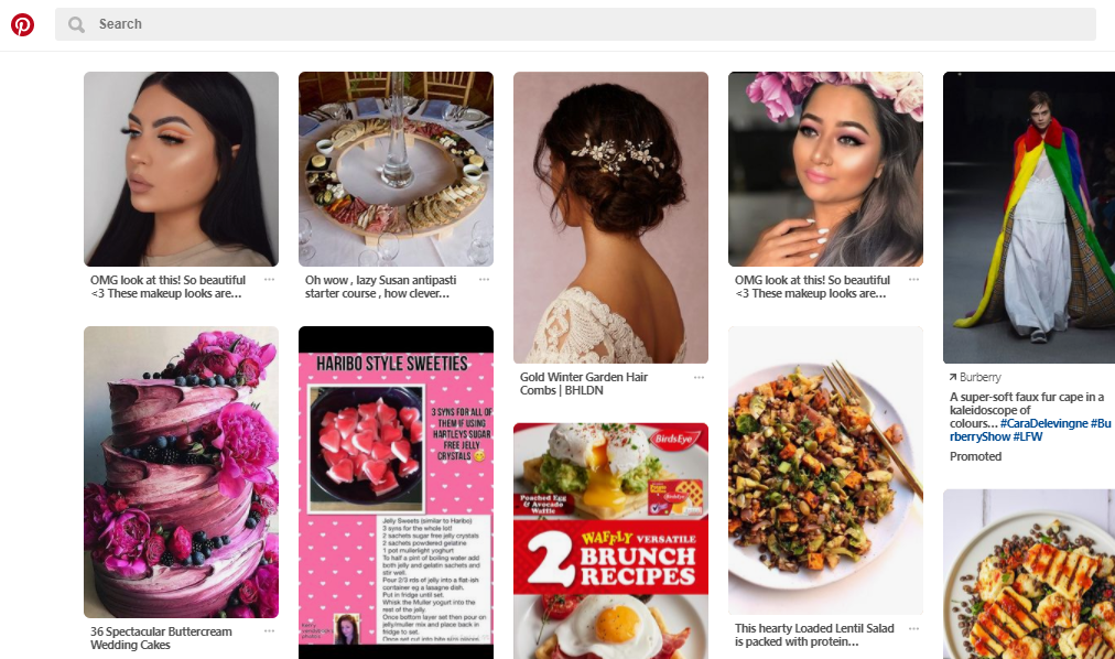 pintrest and fashion retail