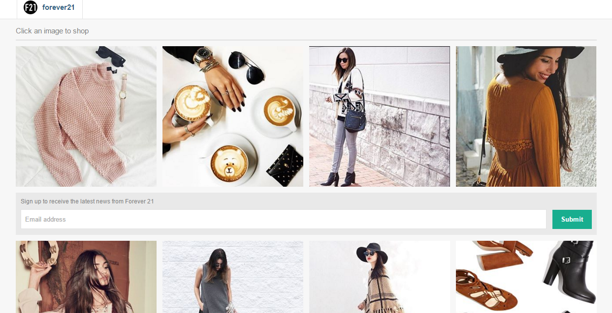 connecting social media with ecommerce store