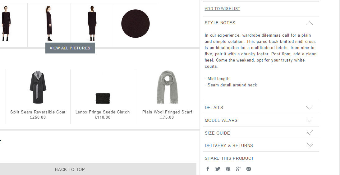 Add social share buttons to drive revenue to your fashion website