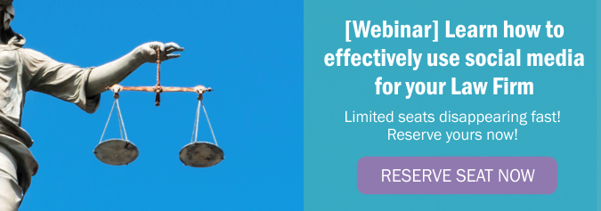 Webinar: Learn how to effectively use social media for your Law Firm