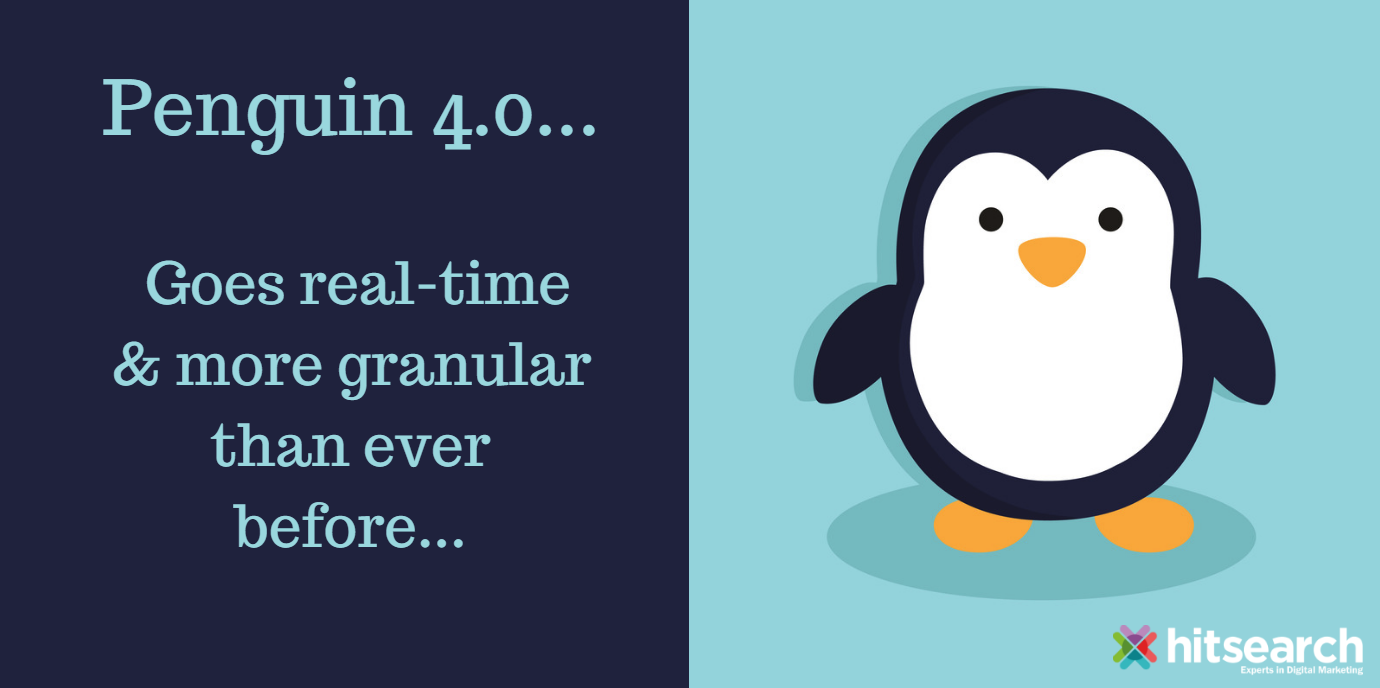 Penguin 4.0 goes real-time and more granular than ever before | Hit Search