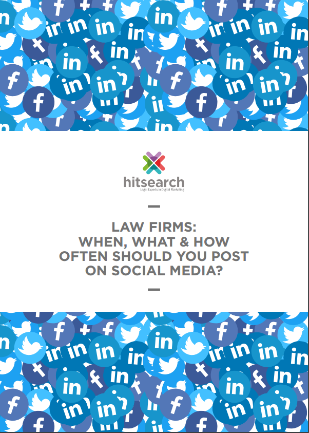 The best times to post on social media for your law firm